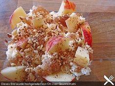 Smokeys Hüttenkäse-Apfel-Frühstück, ein raffiniertes Rezept aus der Kategorie Snacks und kleine Gerichte. Bewertungen: 2. Durchschnitt: Ø 3,5.
