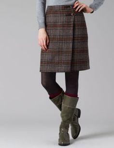 British Tweed Kilt $98.00 #Boden