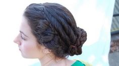Janet Stephens ~ Ancient Roman hairstyles recreated using authentic techniques