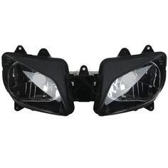 Black Headlight Head Light Lamp Assembly For 1998-1999 Yamaha YZF R1 YZFR1 98 99 #Affiliate