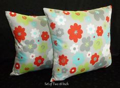 Decorative Accent Throw Pillow Covers  Two 18 Inch by berly731, $32.00