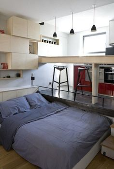 Top Tips for Maximizing Space in (Really) Tiny Paris Apartments...and Anywhere Else | Apartment Therapy