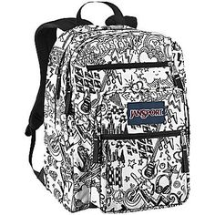 Jansport Big Student Backpack Fluorescent Street Scene | Jansport ...