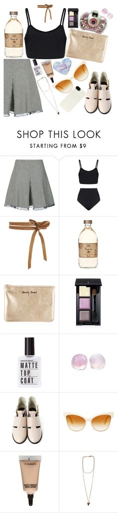 """are you satisfied?: marina and the diamonds"" by gb041112 ❤ liked on Polyvore featuring RED Valentino, Rebecca Minkoff, SUQQU, Dita, MAC Cosmetics, Givenchy, HEX, song and jam"