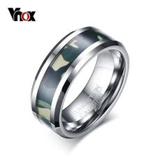Check out Vnox Men's Camouflage Tungsten Carbide Ring   8mm   Comfort Fit Ring Made with lots of love! ❤️  http://qatalyst.company/products/vnox-mens-camouflage-tungsten-carbide-ring-8mm-comfort-fit-ring?utm_campaign=crowdfire&utm_content=crowdfire&utm_medium=social&utm_source=pinterest  #menswear #menstuff #mensjewelry #mensaccessories #mens