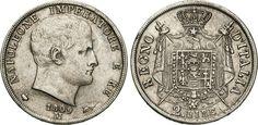 "NumisBids: Numismatica Varesi s.a.s. Auction 65, Lot 733 : NAPOLEONE I, Imperatore (1804-1814) 2 Lire 1809 Milano ""II° tipo""...."