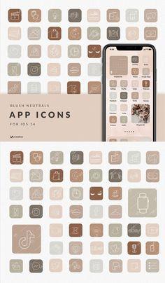 Design Ios, Iphone App Design, App Icon Design, Iphone Wallpaper Ios, Ios Wallpapers, Apple Icon, Iphone App Layout, Apps, Ios App Icon