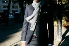 How to tie your scarf   Eton Shirts Norway