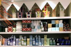 In-the-know customers head to super woman Judy Philactos and Periwinkle for gift baskets, chocolates, scented candles and more.