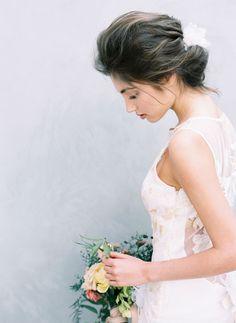 Fine Art Bride Hair and Makeup   Cucumber & Mint   Wedding Sparrow   Fine Art Curation