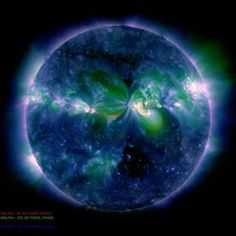 Awesome photo of the sun
