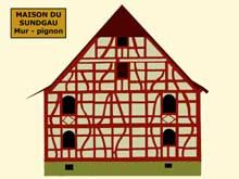 1000 images about ma r gion de coeur on pinterest alsace strasbourg and f - Couleur maison alsacienne ...