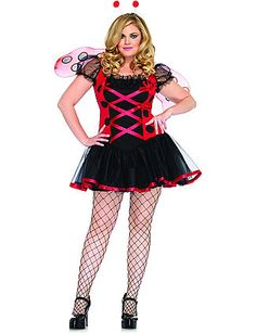 Includes: Dress, wings and headband. Does not include stockings or shoes. sonsi.com