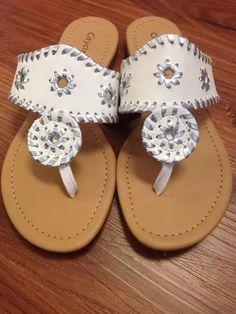 ef14cab6d016 Jack Roger inspired sandals Sophie Shoes