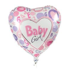 """On Your Christening  12/""""  Light Pink and Sky Blue Asst Latex Balloons pack of 6"""