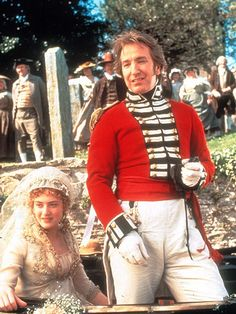 Alan Rickman and Kate Winslet in Sense and Sensibility