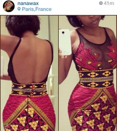 Beautiful dress by Nanawax ~African fashion, Ankara, kitenge, African women… African Fashion Designers, African Inspired Fashion, African Dresses For Women, African Print Dresses, African Print Fashion, Africa Fashion, African Attire, African Wear, African Fashion Dresses