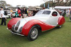 "1937 Talbot Lago T-150-C (SS) ""Teardrop Coupe"""