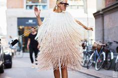 Celine Aagaard during Copenhagen Fashion Week S/S 2016