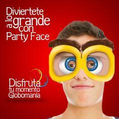 Tenemos lentes gigantes para animar tus fiestas. Pregúntanos por los diferentes tipos de lentes.  #DsifrutaTuMomentoGlobomanía