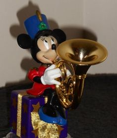 Mr Christmas, Holiday, Horn Instruments, French Horn, Brass Band, Music Humor, Minnie Mouse, Play, Disney Characters