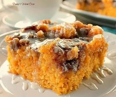 Incredibly delicious…a dense moist sweet potato cake that tastes like a cinnamon roll.  Paul and I absolutely love sweet potatoes.  We love them any way we can have them, even in cake.  I saw this recipe on a Face Book recipe group called GFCAV Presents Food Recipe Central.  It was posted by Sharon... Read More »