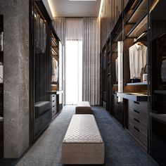 Bedroom Wardrobe Design Ideas Interiors 32 Ideas For 2019 Walk In Closet Design, Bedroom Closet Design, Closet Designs, Master Bedroom Design, Modern Bedroom, Luxury Master Bedroom, Trendy Bedroom, Mirrored Bedroom, Bedroom Simple