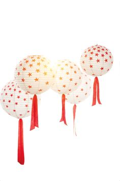 Give your paper lanterns a 4th of July makeover with the Star Punch from Martha Stewart Crafts.