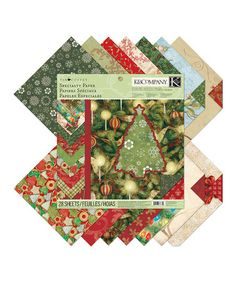 Take a look at this Tim Coffey Christmas Specialty Paper Pad by EK Tools on #zulily today!