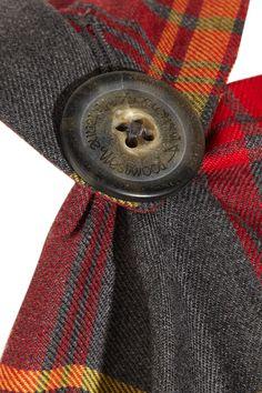 Vivienne Westwood Anglomania   Rectangle tartan wool dress   NET-A-PORTER.COM