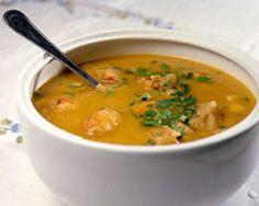 Flavors of Brazil - Fish Soup, Brazilian Beach Style (Caldinho de Peixe) Soup Recipes, Cooking Recipes, Seafood Recipes, Recipies, Fish Soup, Portuguese Recipes, Portuguese Food, Fish And Seafood, International Recipes