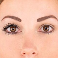 Left side with Younique 3-D mascara, right side without.