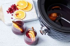 Amazing slow-cooker mulled wine