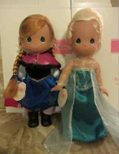 Frozen Precious Moments Dolls SIGNED BY LINDA RICK!