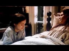 """Little Women - Beth (Claire Danes) dies with Joe (Winona Ryder) at her bedside. Piano """"The Valley of the Shadow"""""""