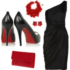 dicen que el negro es el color de la muerte pero a la hora de vestirnos elegante es el color que reina con el glamur