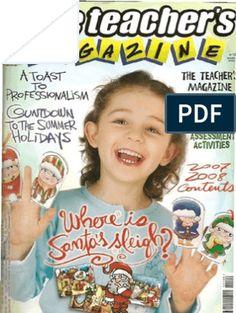 The Teacher's Magazine 109 Teacher Magazine, English Games, Activities, Teachers, School Supplies, Social Networks, Reading, School