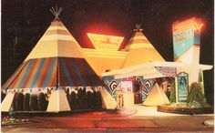 Twin TeePees Restaurant & Lounge Seattle WA by SportSuburban, via Flickr