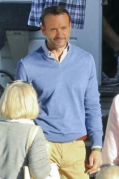 "Tim McGraw was looking less country and more dapper in Vancouver on set of the upcoming film ""The Shack""."