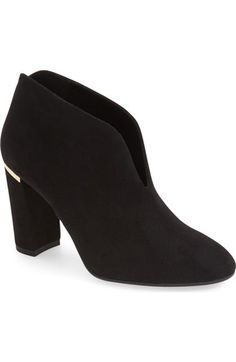 kate spade new york 'dillon' block heel bootie (Women) available at #Nordstrom