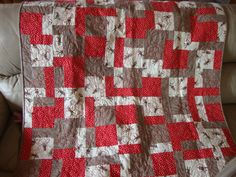 sock monkey quilt for Zak