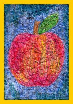Ovoce – papírová batika