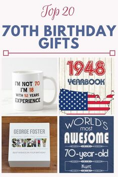 116 Best 70th Birthday Ideas Images In 2019