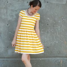 A fun and very wearable take on the skater dress!
