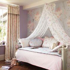 Sandersons Collection - Abracazoo - Fairy Castle Wallpaper