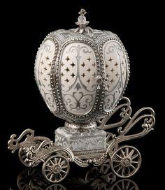 Faberge Egg.Silver Carriage ВЫБОР МИХАИЛА ДЛЯ МЕНЯ-ЖЕНЫ ЭЛЕН!ЕЛЕНА! 25 АПР…