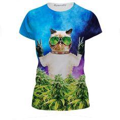Cat Holding Gun funny kid/'s T-Shirt Pour Enfants Garçons Filles Unisexe Top Chaton