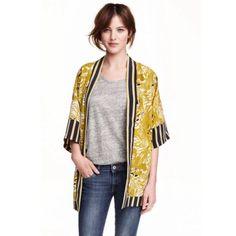 H&M Patterned Kimono Jacket