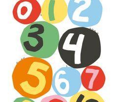 Littlephant affisch siffror