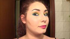 ELECTRIC PALETTE makeup tutorial: Tropical Smokey Eyes - Urban Decay